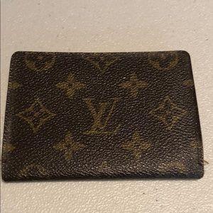 Louis Vuitton Monogram Card Holder # 63